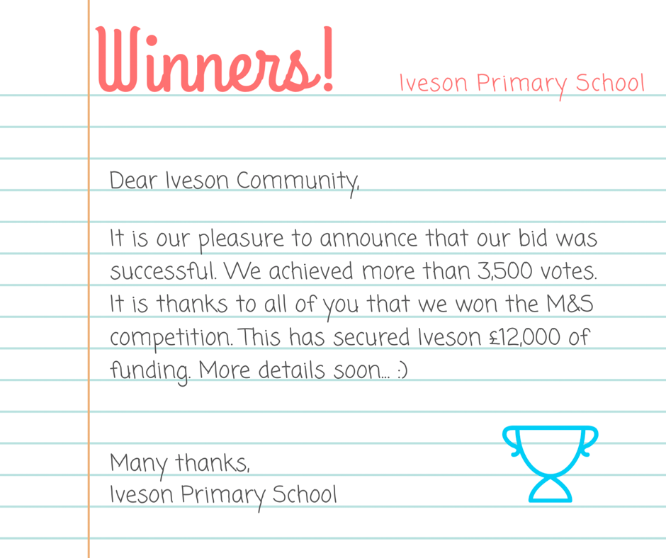 Letters & News – Iveson Primary School